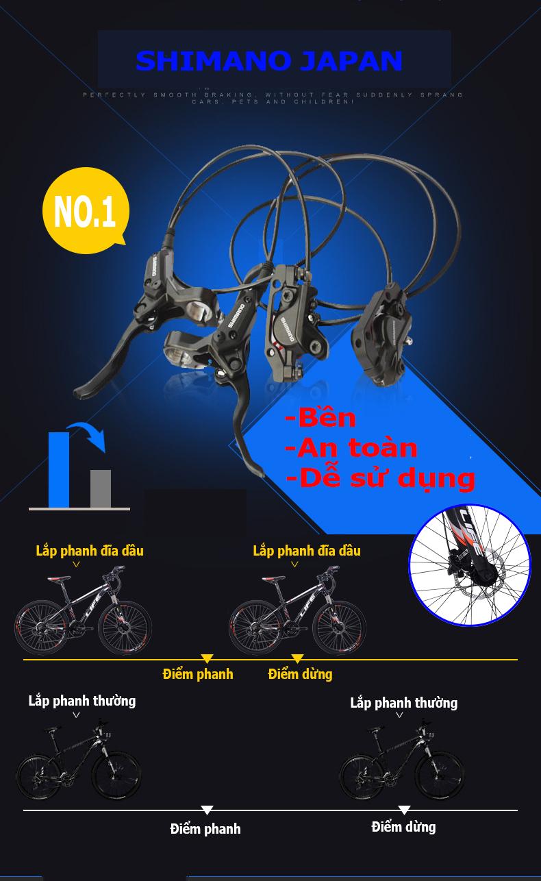 Phanh xe đạp Life L38.5