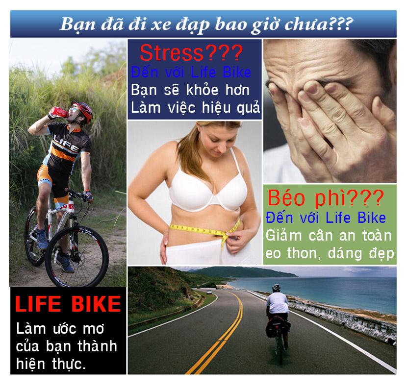 Công dụng của việc sử dụng xe đạp