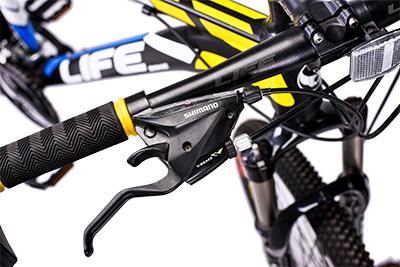 tay đề xe đạp địa hình life l38.2