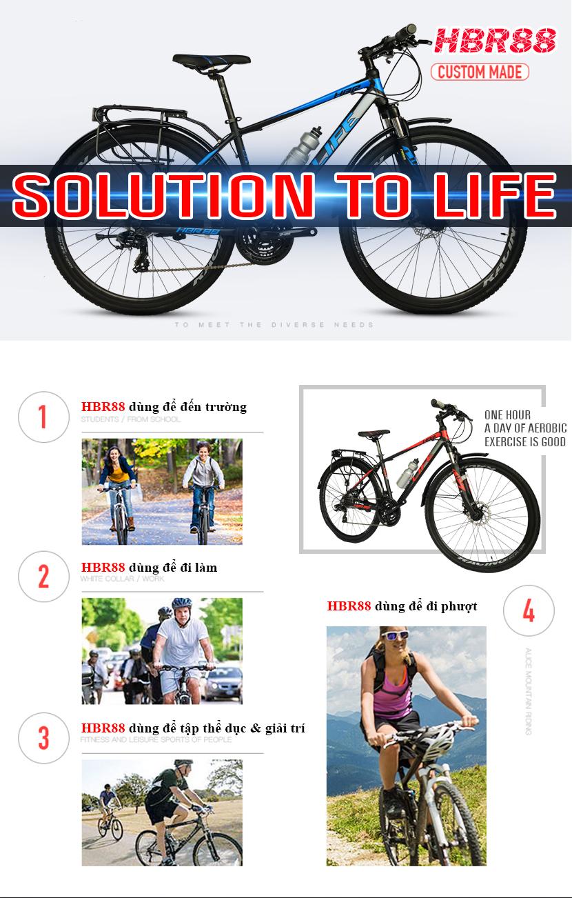Xe đạp Life HBR88