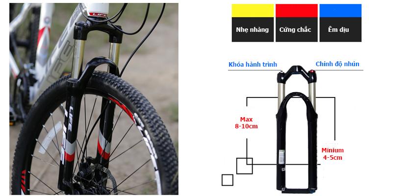 Càng xe đạp Life L38.3