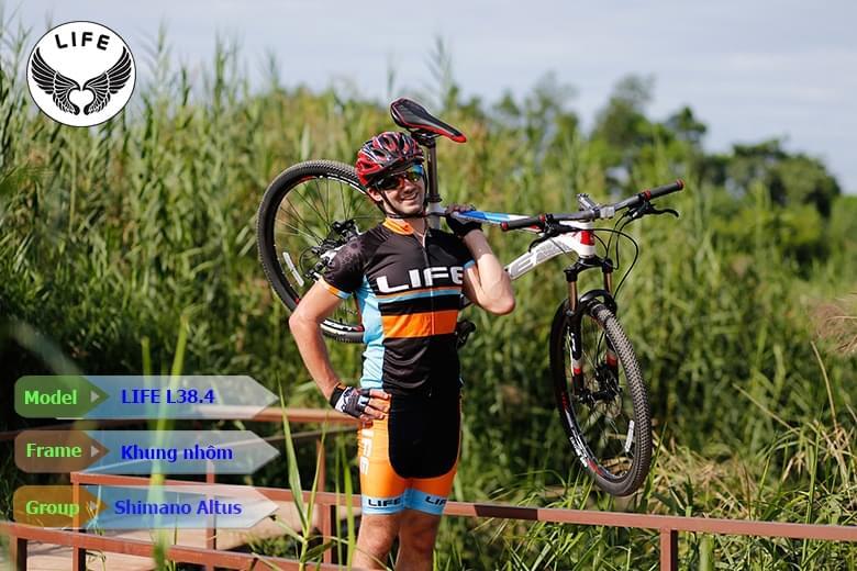 Xe đạp Life L38.4 thiết kế hợp kim nhôm