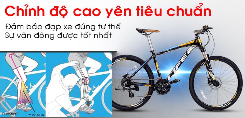 Yên xe đạp Life L38.4