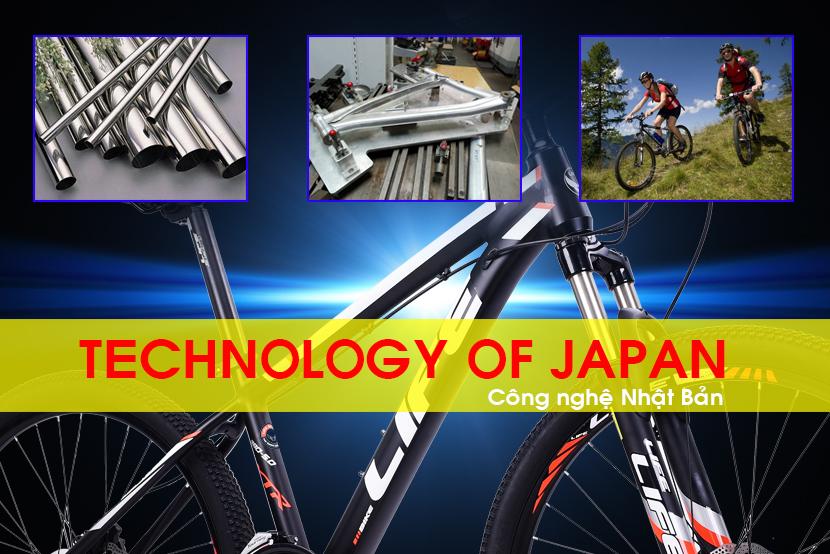 Khung xe đạp địa hình Life L38.5