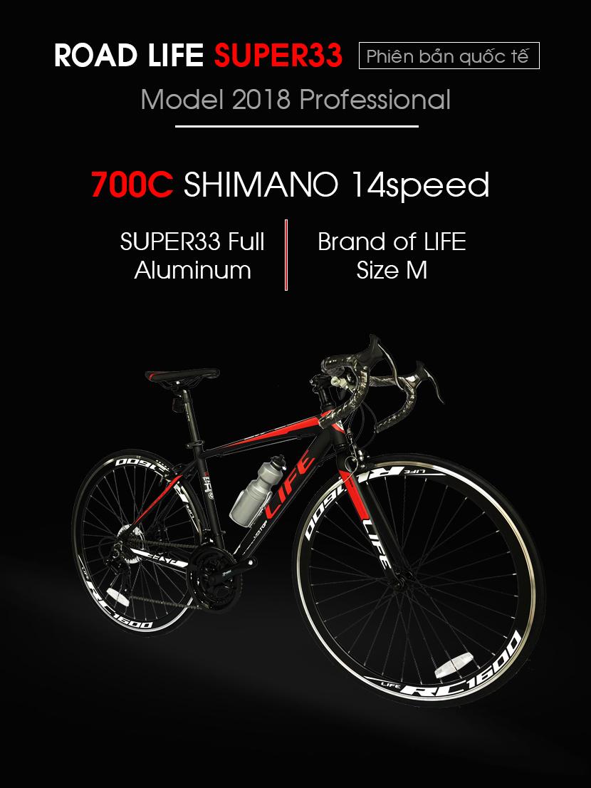 Xe đạp Life Super33