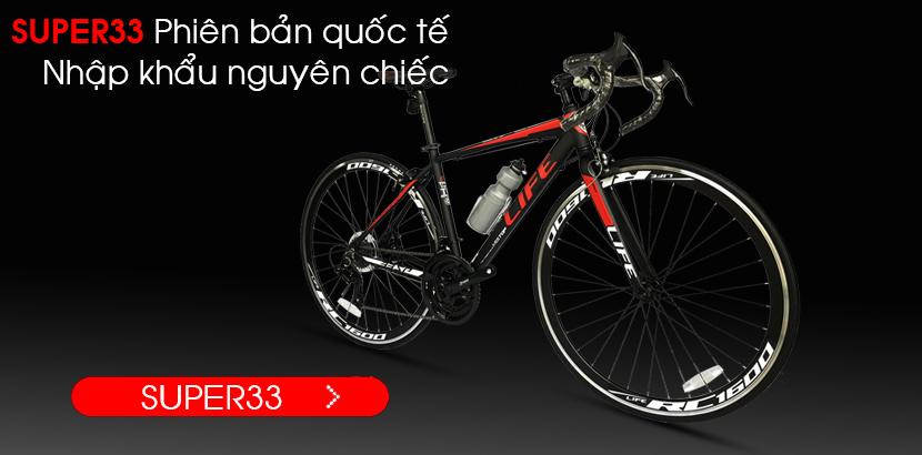 Xe đạp đua Life Super33 nhập khẩu nguyên chiếc