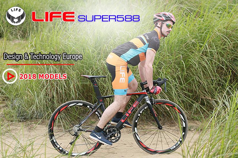 Xe đạp đua Life Super588 2018 models