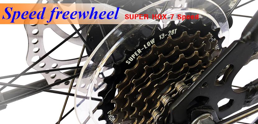 Líp xe đạp Life LCK24