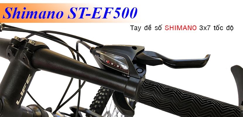 tay đề số xe đạp địa hình Life LCK24