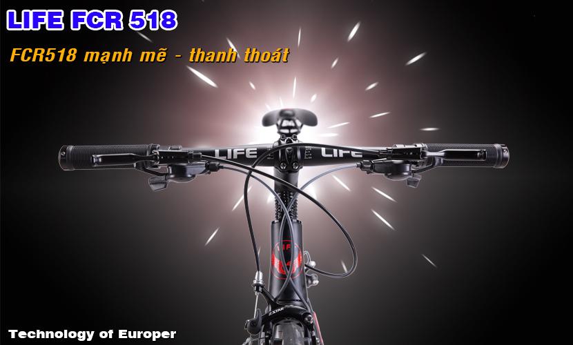 Xe đạp touring Life FCR518 mạnh mẽ thanh thoát