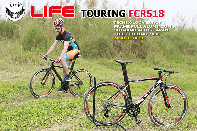 Xe đạp touring Life FCR518 model 2018