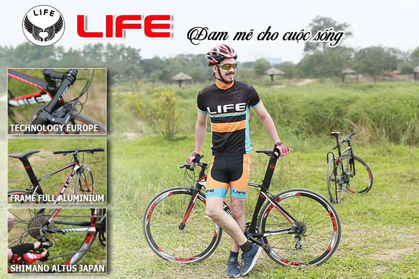 Xe đạp touring Life FCR518 đam mê cho cuộc sống