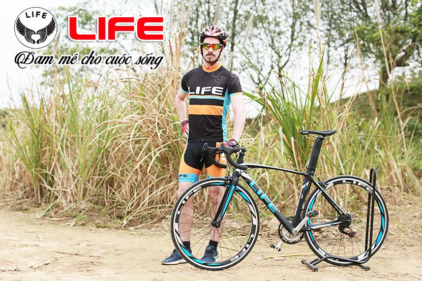 Xe đạp đua Life Super558 đẳng cấp