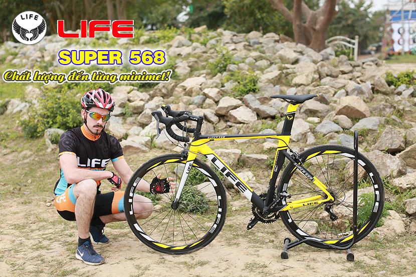 Xe đạp đua Life Super568 chất lượng từng cm