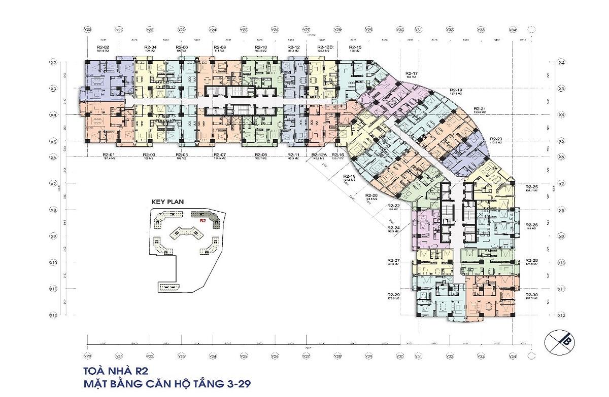 Bán căn 29 tòa R2 179.8m2