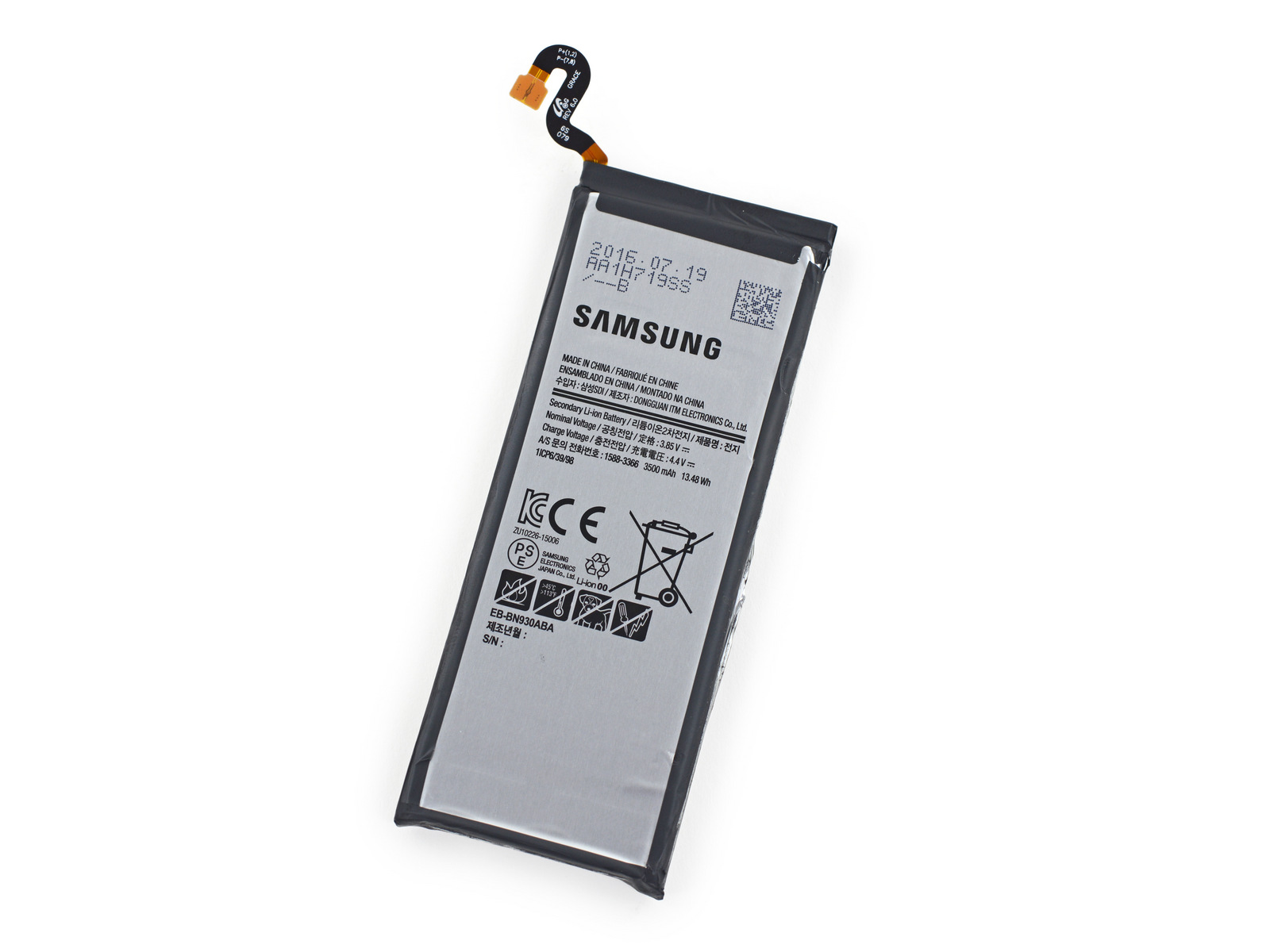 Thay Pin Samsung Note 7