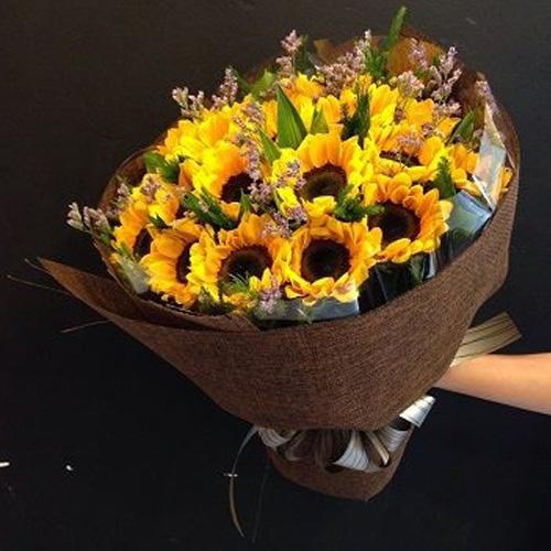 Những mẫu Hoa bó HƯỚNG DƯƠNG đẹp - Cho những ai yêu loài ...