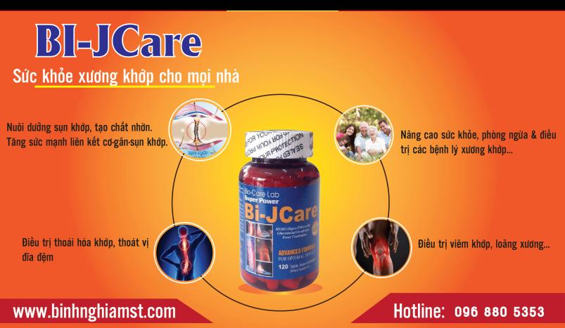 Bi-Jcare bổ xương khớp, tái tạo nhờn sụn khớp
