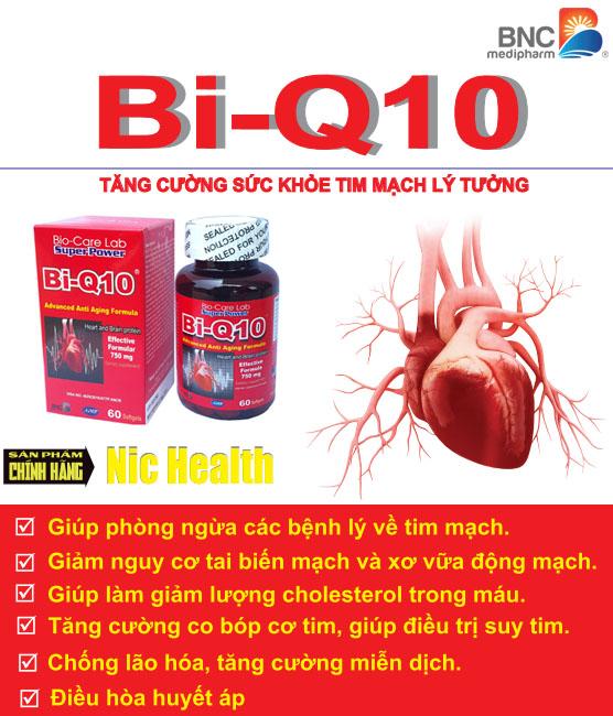 Bi-Q10 bổ tim mạch