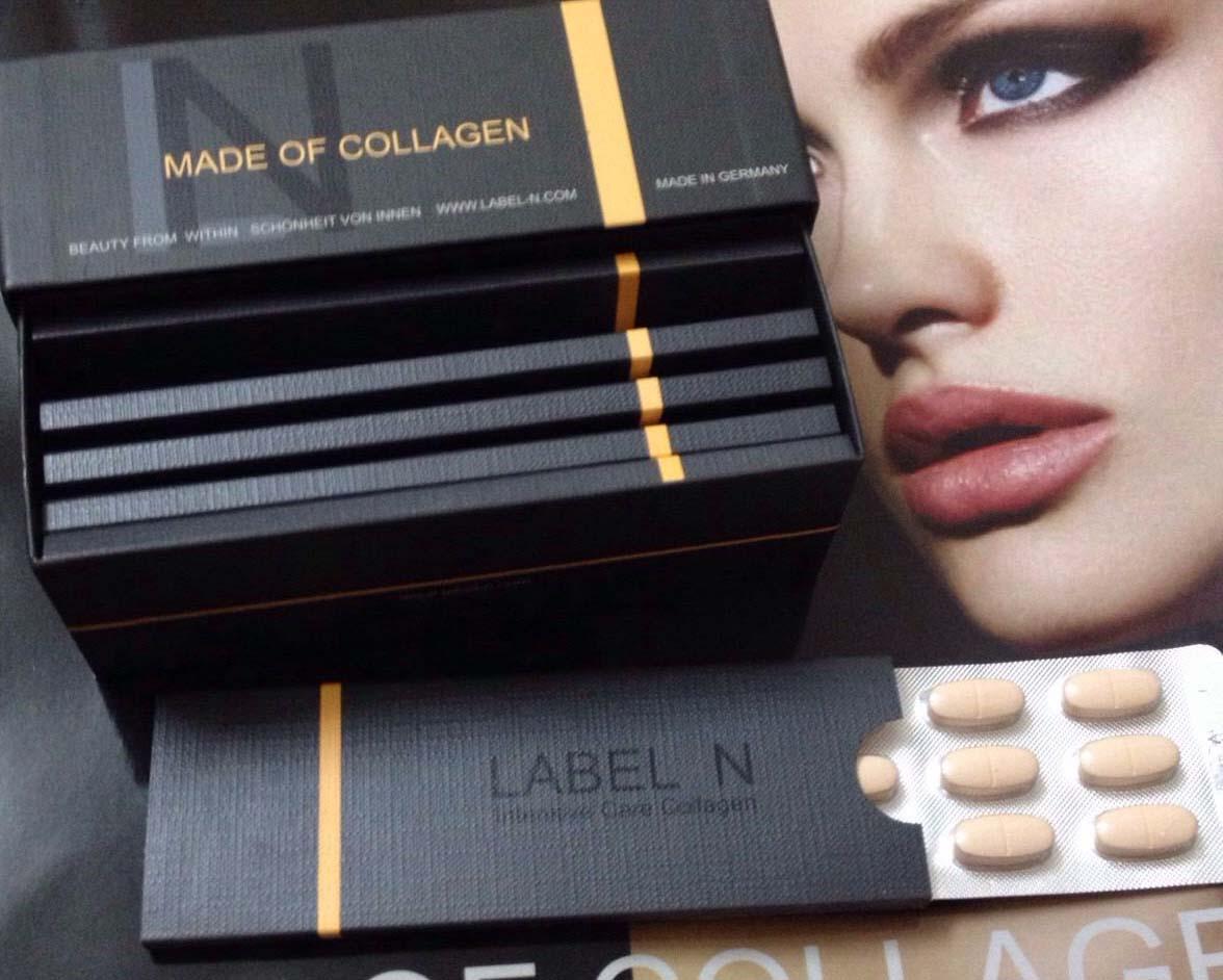 Collagen Label N - Chống lão hóa da, làm đẹp da, chống nhăn da