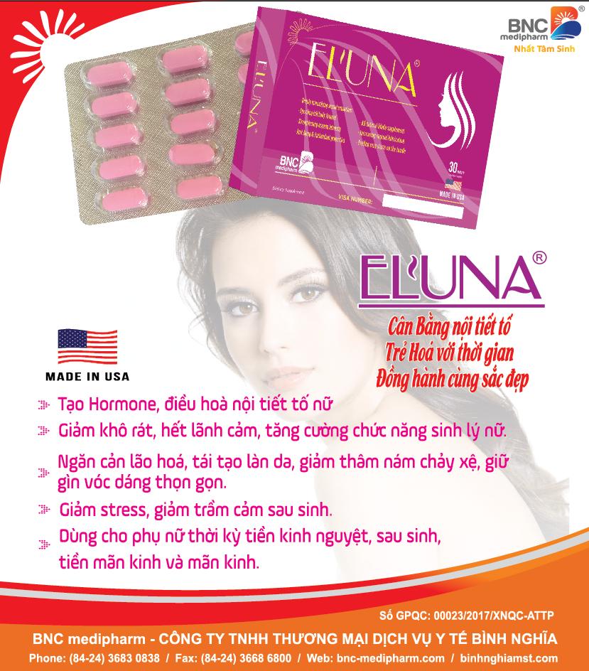 eluna bổ sung nội tiết tố nữ
