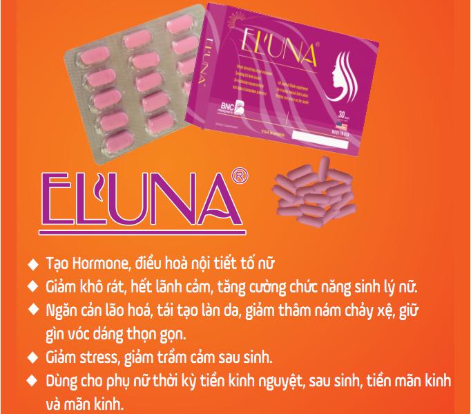Eluna - tăng cường sinh lý nữ