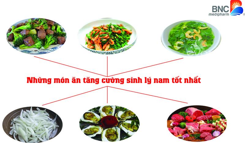 Những món ăn tăng cường sinh lý nam