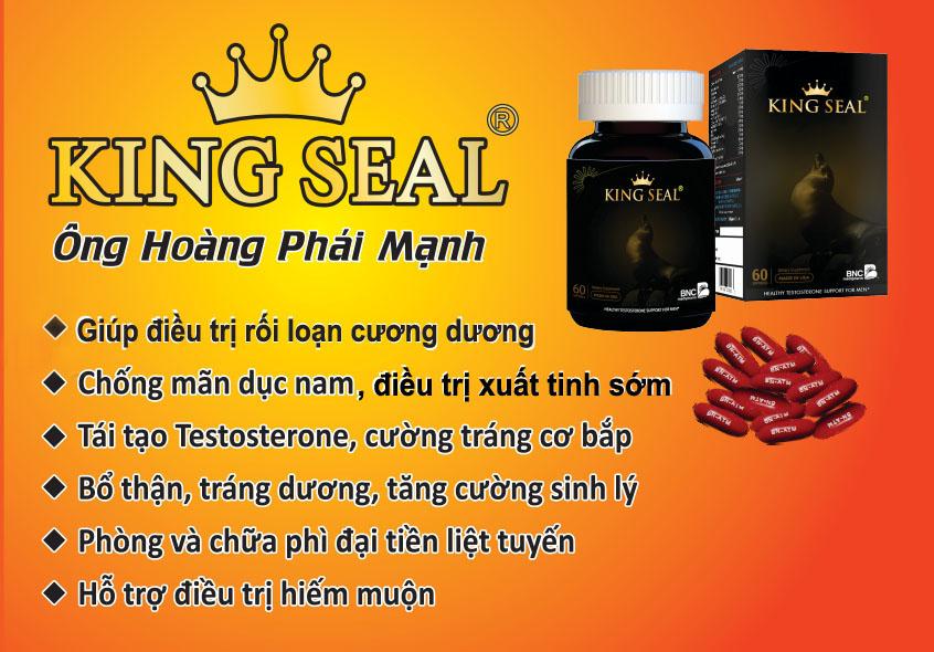 King seal - vua hải cẩu - chữa xuất tinh sớm ở đâu an toàn hiệu quả nhất