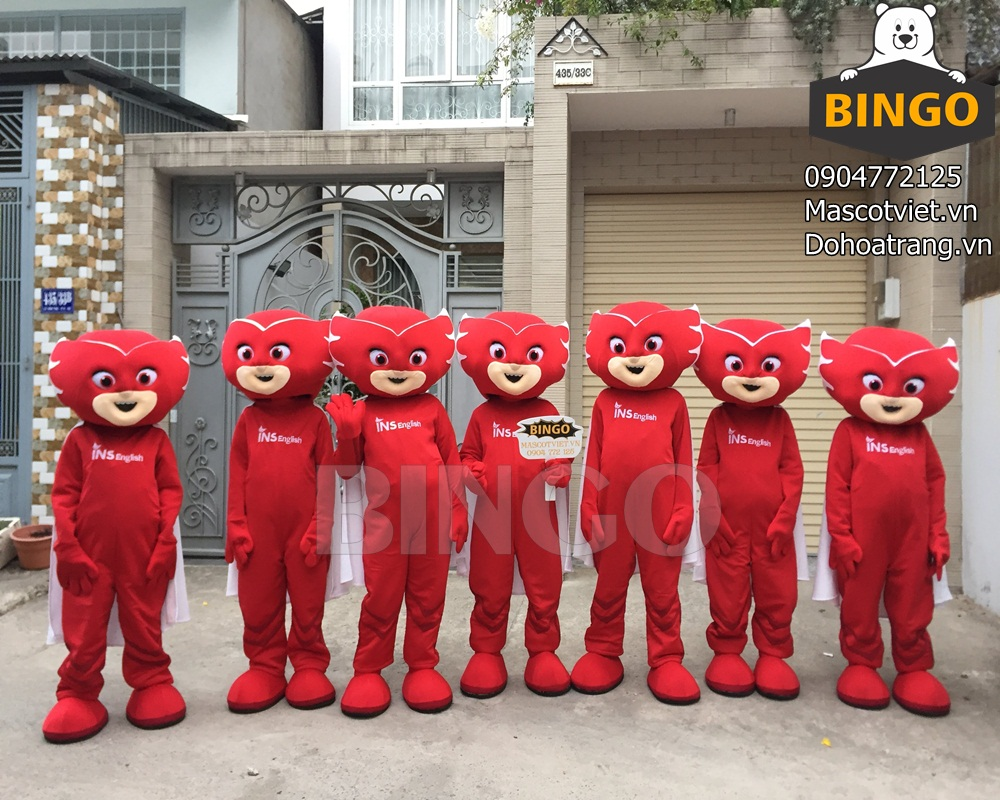 Đặt may Mascot tại BINGO