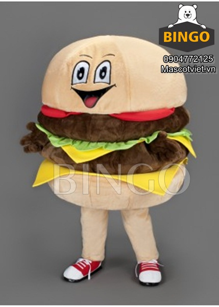Mascot Hamburger