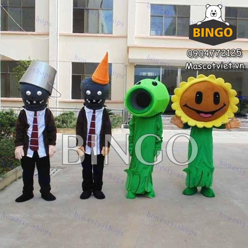 Mascot Plants vs Zombies