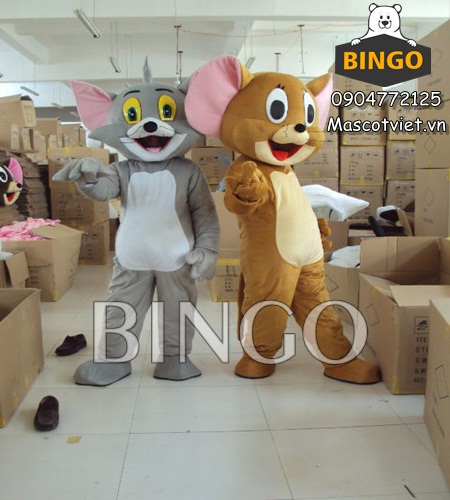 Mascot Tom and Jerry