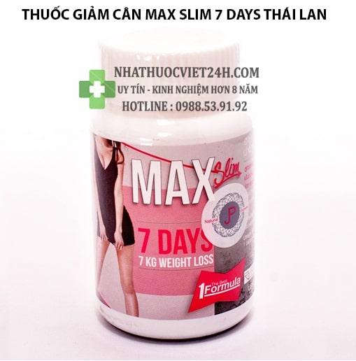 max slim 7 days