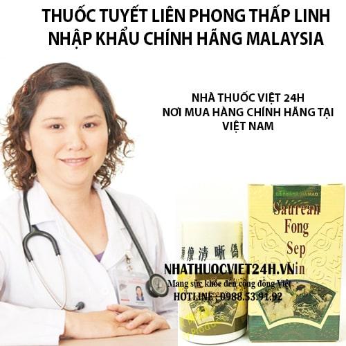 THUỐC TUYẾT LIÊN PHONG THẤP LINH CHÍNH HÃNG VIỆT NAM