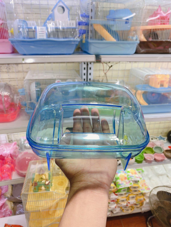Nhà tắm mica siêu lớn cho hamster
