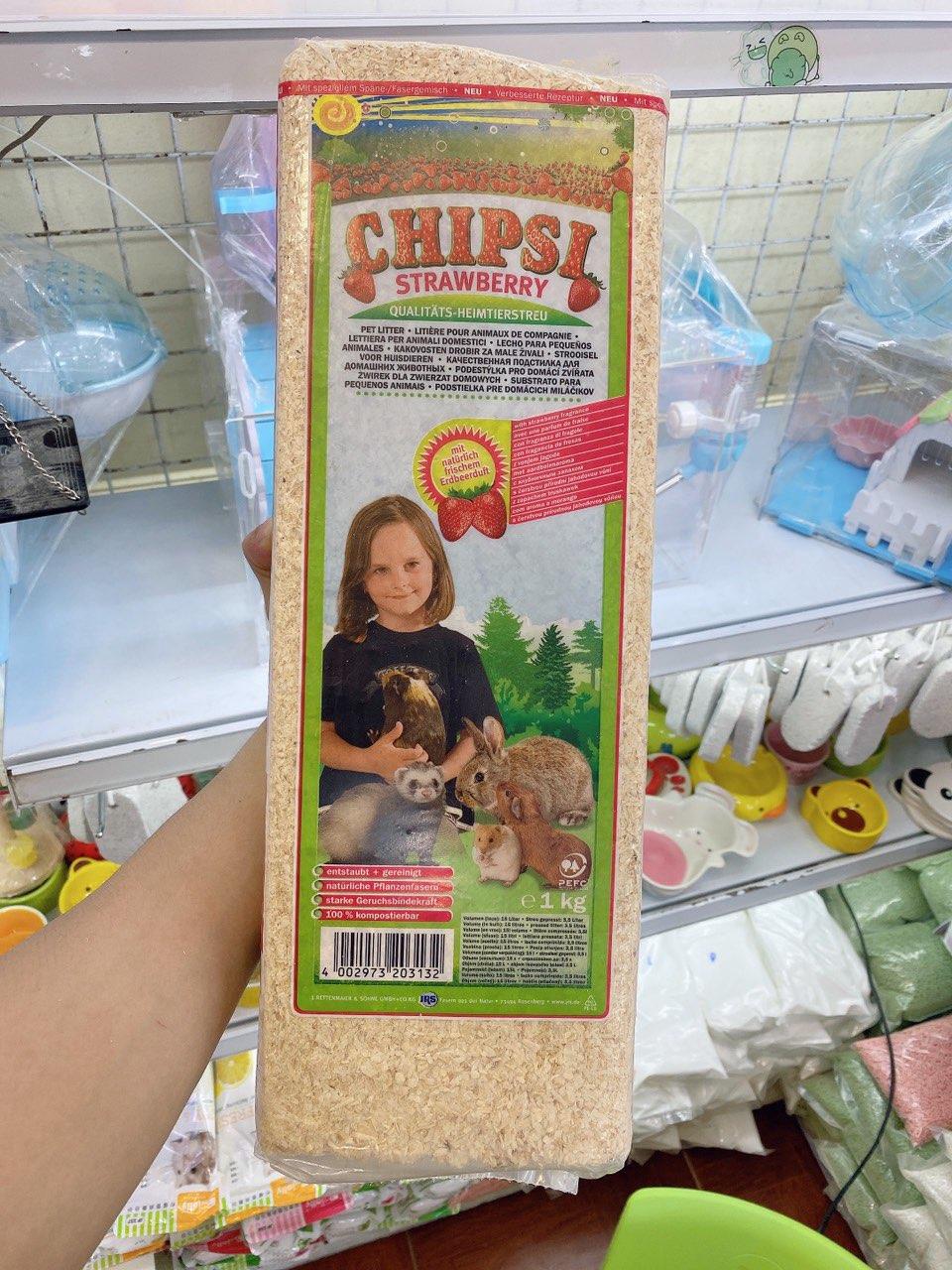 Mùn chipsi nhập khẩu đức