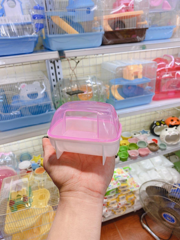 Nhà tắm nhựa nhỏ cho hamster