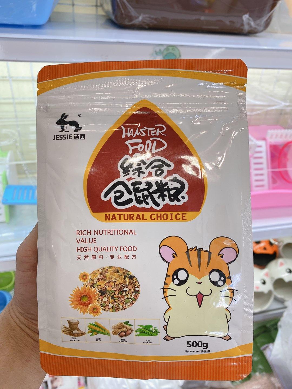 Thức ăn ngũ cốc 500gr cho hamster