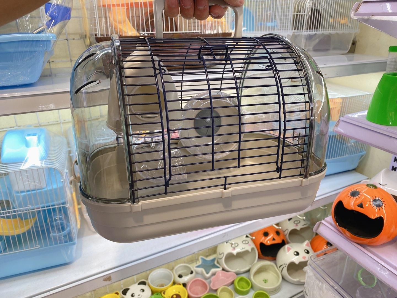 Lồng phi thuyền nhỏ màu xám chính hãng cho hamster