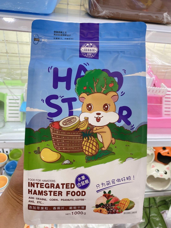 Thức ăn cao cấp hoa quả hamster star
