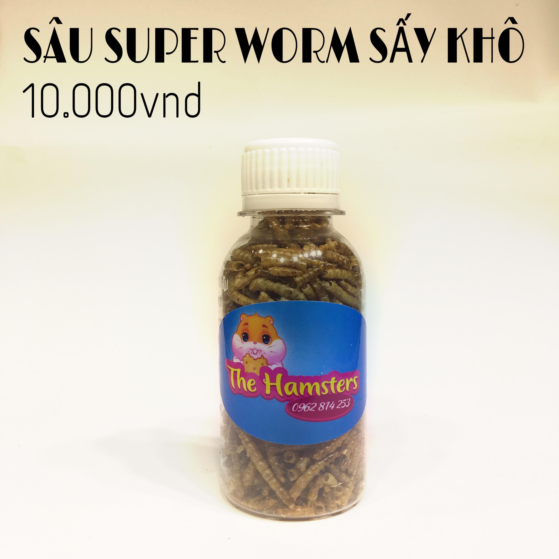 SÂU SUPER WORM SẤY KHÔ