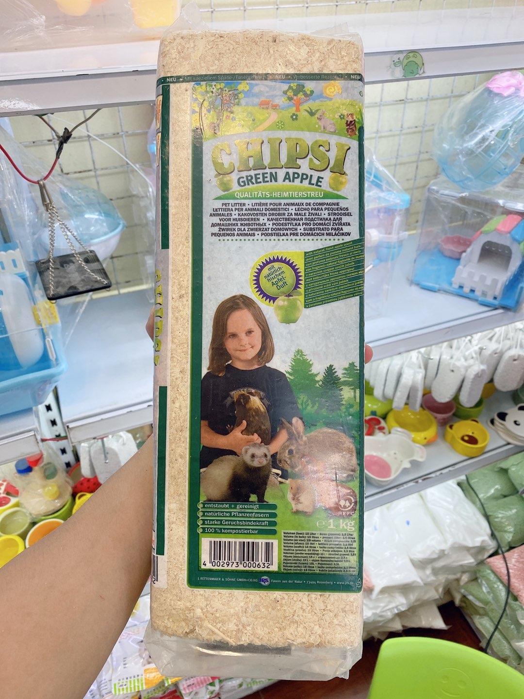 Mùn cưa nhập khẩu đức chipsi cho hamster