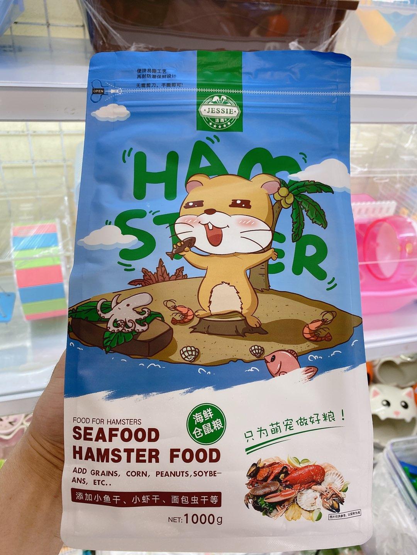 Thức ăn hải sản hamster star 1kg cho Hamster