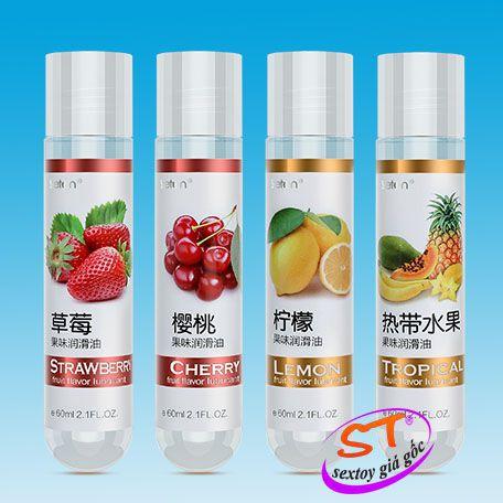 gel bôi trơn hương trái cây leten g13a