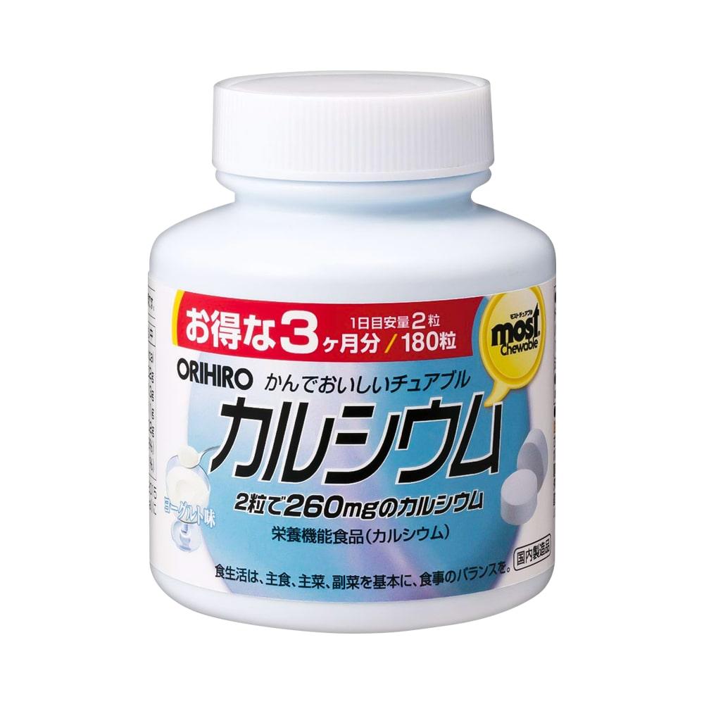 Viên nhai bổ sung Canxi vị sữa chua MOST Orihiro 180 viên