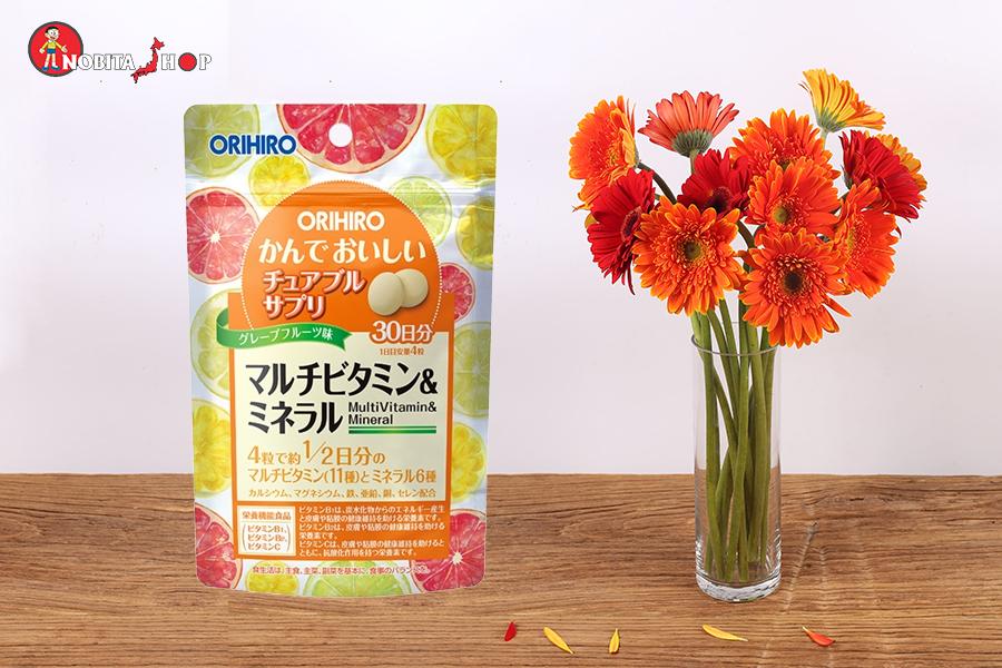 Viên Bổ Sung Vitamin Và Khoáng Chất Orihiro