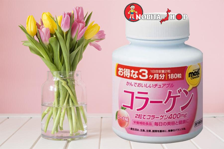 Collagen Viên Nhai Orihiro (180 viên)