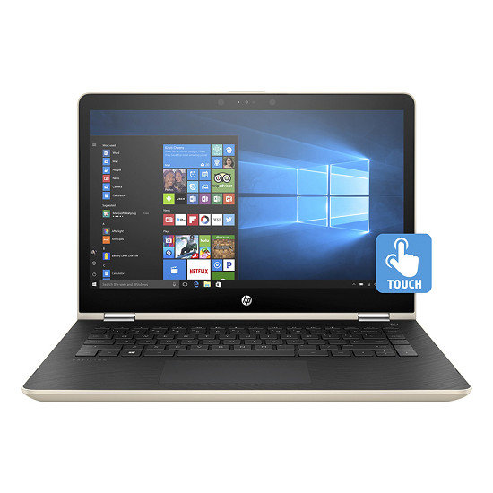 Laptop HP Pavilion x360 14-ba069TU 2GV31PA - Gold