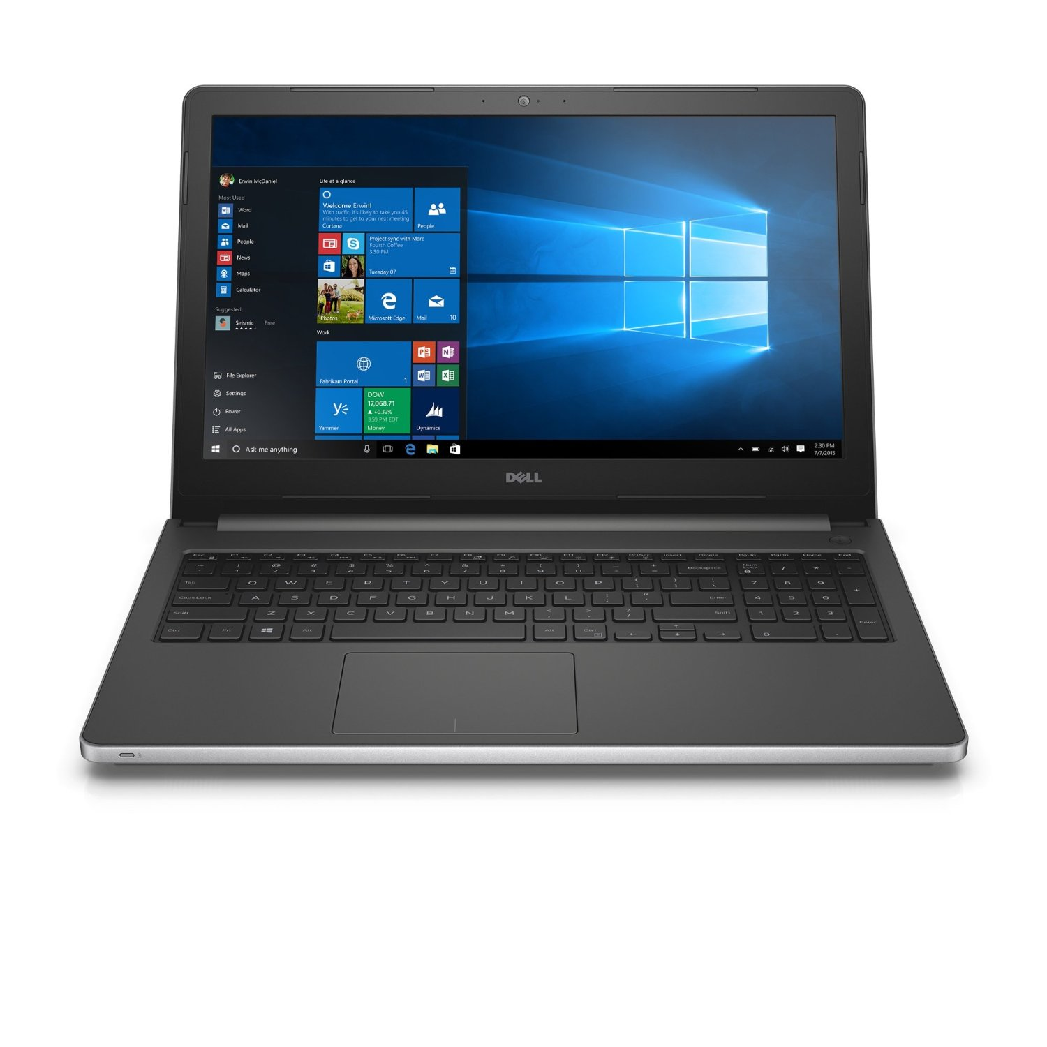 Laptop DELL Ins N7570 N5I5108 - Silver