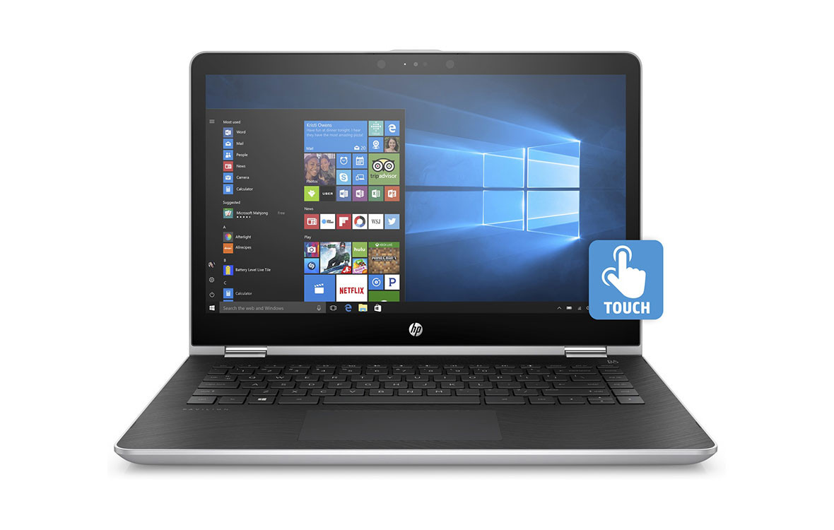 Laptop Hp X360 14-ba128TU 3MR84PA - Bạc